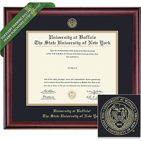 University at Buffalo 20\'\' x 16\'\' Classic Diploma Frame | University ...