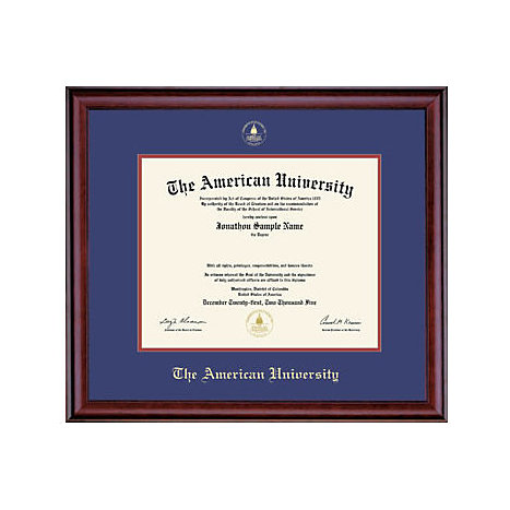 American university classic diploma frame 8 5 x 11 for American classic frames