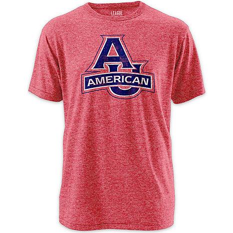 American University Twisted Tri Blend T Shirt American