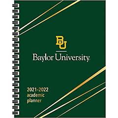 Baylor Calendar Fall 2022.Baylor Calendar Baylor Bears Day Planners File Folders