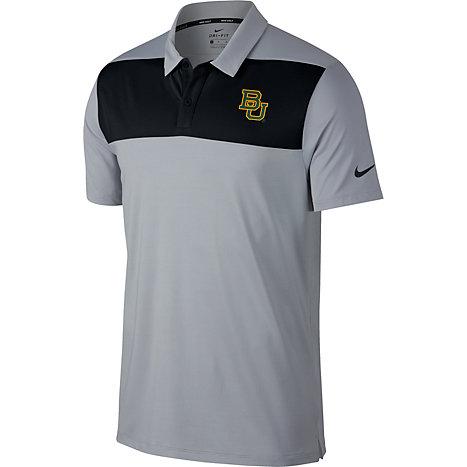 a4434ff63d65 Nike Golf Baylor University Color Block Polo