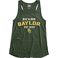 Official NCAA Baylor University Bears Judge Joy Womens Tonal Pocket Boyfriend Tank Top