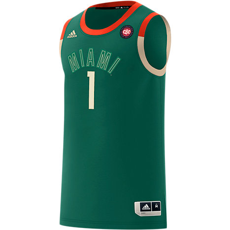 90a6909c409 adidas University of Miami Celebrating Black Culture Basketball Jersey