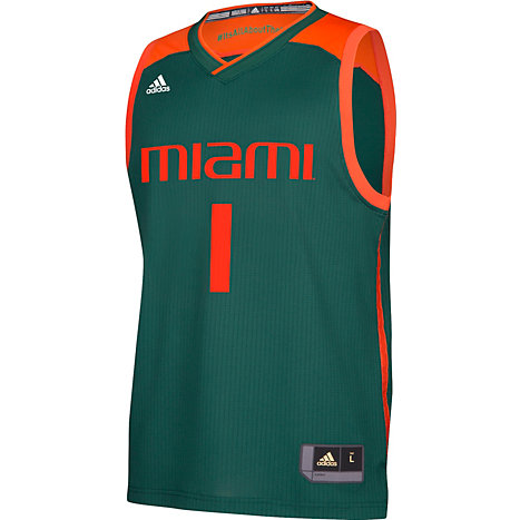 808edea1d2f Product  University of Miami March Madness 2017 Basketball Jersey
