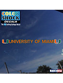 Miami Hurricanes License Plate Frame | Decals & Car Mats