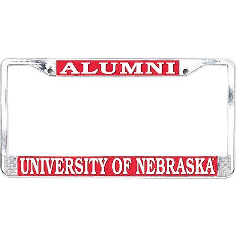 University of Nebraska - Lincoln Alumni License Plate Frame ...