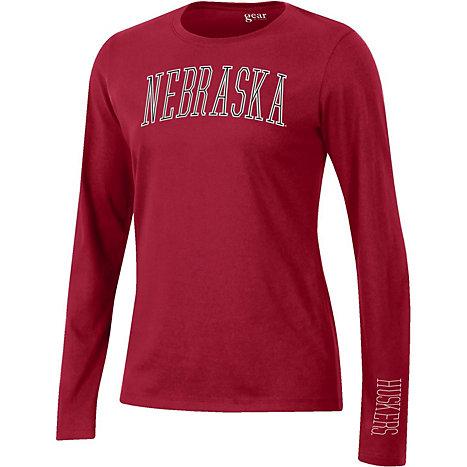 Product  University of Nebraska - Lincoln Women s Relaxed Fit Long Sleeve T- Shirt 0c85075d8