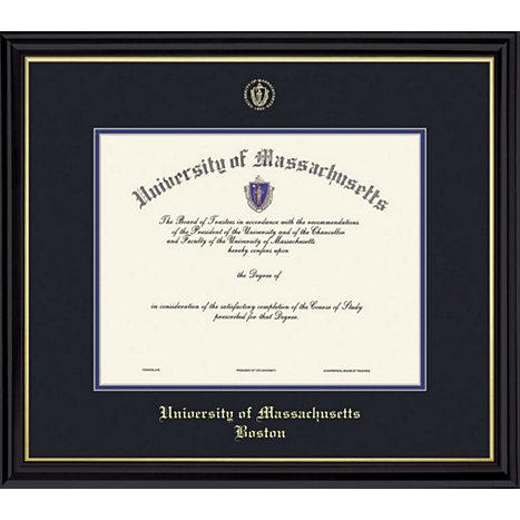 University Of Massachusetts- Boston Coronado Diploma Frame -ONLINE ...