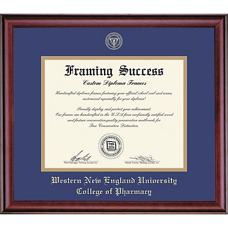 Western New England University College of Pharmacy 14\'\' x 17\'\' Classic  Diploma Frame