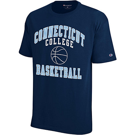Connecticut College Basketball T Shirt Connecticut College