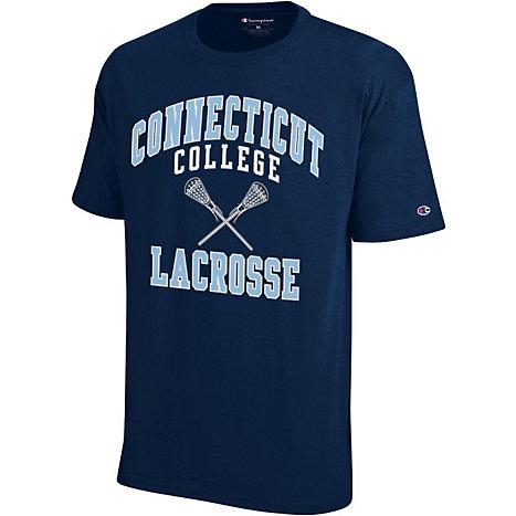 Connecticut College Lacrosse T Shirt Connecticut College