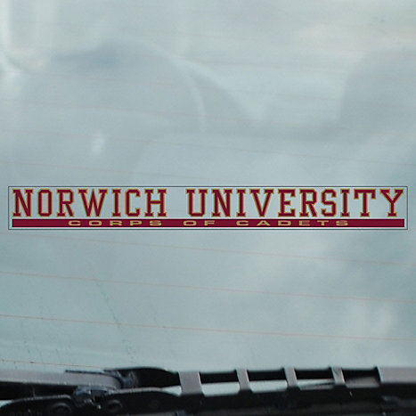 Cdi norwich university corps of cadets strip decal