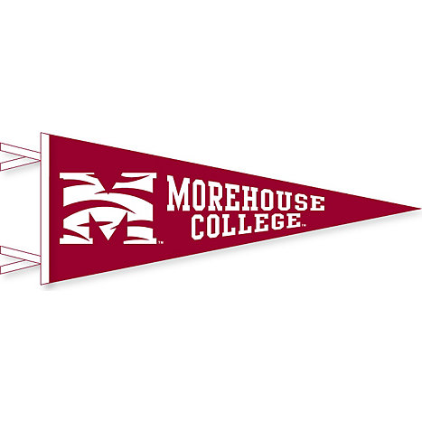Collegiate Pacific Morehouse College Maroon Tigers 12   x 30   Pennant 3e0d4f50d