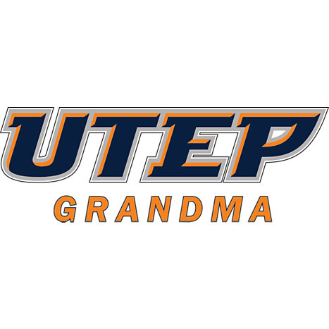UTEP Small Decal Grandma - ONLINE ONLY | University of Texas El Paso