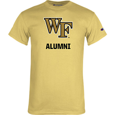 4cac9982ea94 Product  Wake Forest Champion T-Shirt WF Alumni - ONLINE ONLY