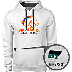 W Republic UTA University of Texas at Arlington Campus Crewneck Pullover Sweatshirt Sweater Heather Charcoal