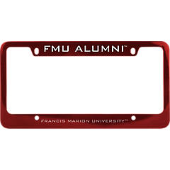 Mascot Desert Cactus Francis Marion University FMU Patriots Pats NCAA Metal License Plate Frame for Front or Back of Car Officially Licensed