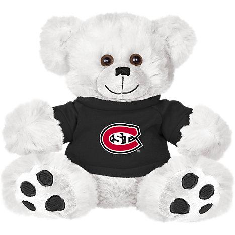 8ce1c252694 St Cloud Plush Big Paw 8 1 2 inch Bear w  Shirt Primary Mark ...