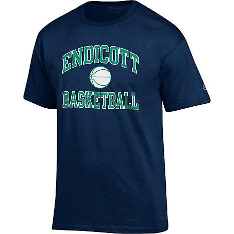 Endicott College Basketball T Shirt Endicott College