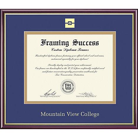 Mountain View College 8\'\' x 10\'\' Academic Diploma Frame   Dallas ...