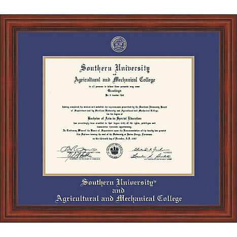 Southern University and A&M College Diploma Frame | Southern ...