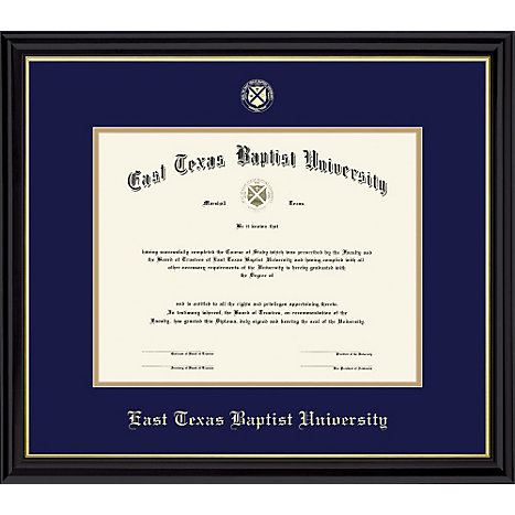 East Texas Baptist University Diploma Frame | East Texas Baptist ...