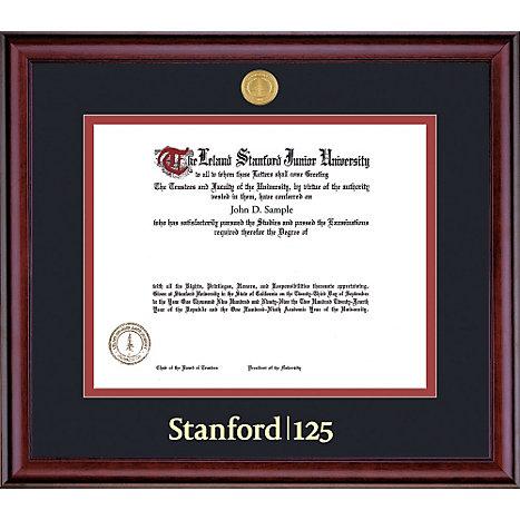 Stanford University 8.5\'\' x 11\'\' Classic Diploma Frame | Stanford ...