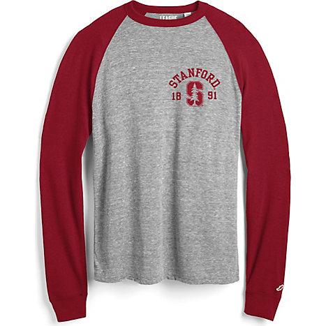 Stanford university victory falls baseball long sleeve t for Stanford long sleeve t shirt
