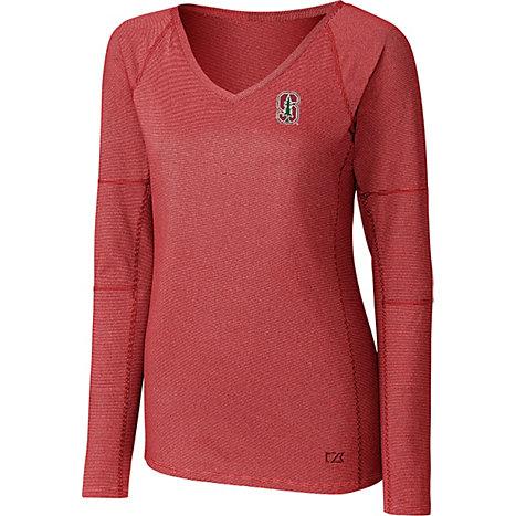 Stanford university cardinal women 39 s long sleeve t shirt for Stanford long sleeve t shirt