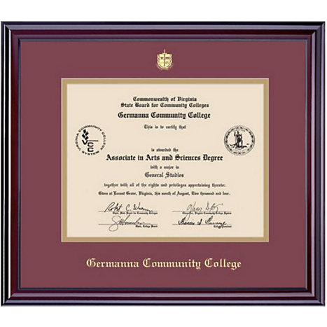 Germanna community college 7x9 elite diploma frame germanna framing success germanna community college 7x9 elite diploma frame solutioingenieria Image collections