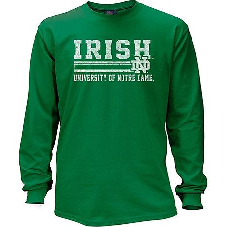 0947408ab MV Sport University of Notre Dame Fighting Irish Long Sleeve T-Shirt