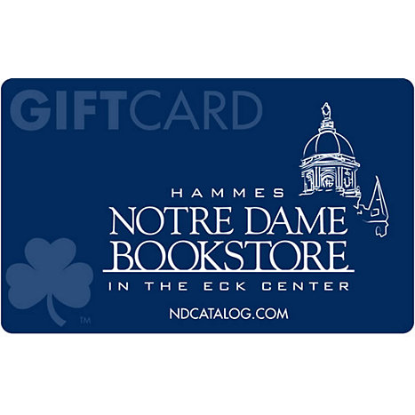$25 Gift Card : Hammes Notre Dame Bookstore in the Eck Center