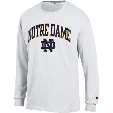 Long Sleeve T Shirt A1812d University Of Notre Dame