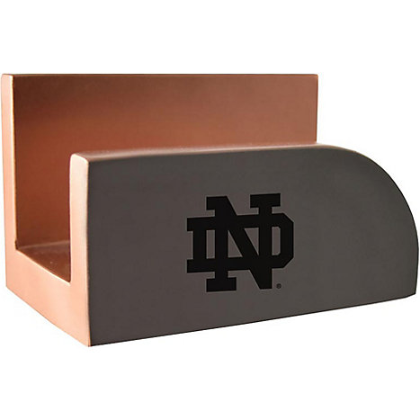 Lxg University Of Notre Dame Concrete Business Card Holder
