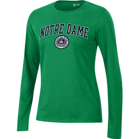 Product  University of Notre Dame Women s Relaxed Fit Long Sleeve T-Shirt 10dd2521d
