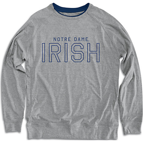 University Of Notre Dame Long Sleeve T Shirt University Of Notre Dame