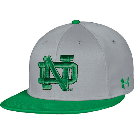 b99b63236b7 Product  University of Notre Dame Baseball Flat Bill Cap