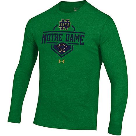 University Of Notre Dame Hockey Long Sleeve T Shirt University Of