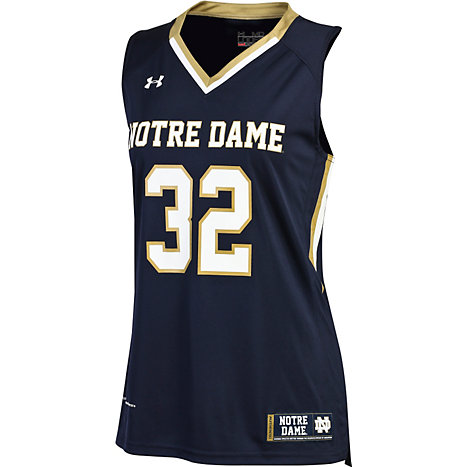 University Of Notre Dame Women S No 32 Replica Basketball Jersey