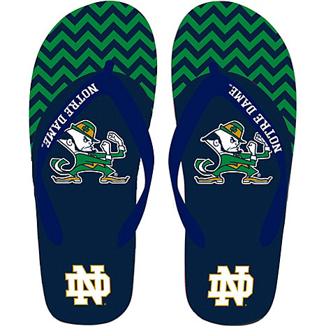 ffb7a6c1333f Product  University of Notre Dame Fighting Irish Big Island Flip-Flop  Sandals