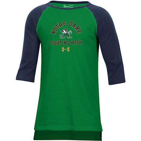 f7df40084 Product: University of Notre Dame Youth Fighting Irish Baseball Tee