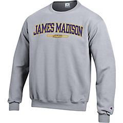 RussellApparel James Madison University Boys Short Sleeves Heather Crew Neck Tee