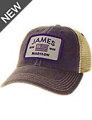 James Madison University Flag Patch Trucker Cap 07c3048666ee