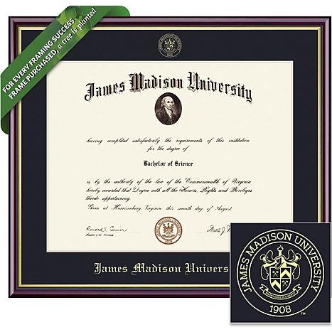 James Madison University 14 X 17 Value Price Academic