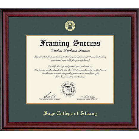 Sage College of Albany Classic Diploma Frame | Sage College of ...