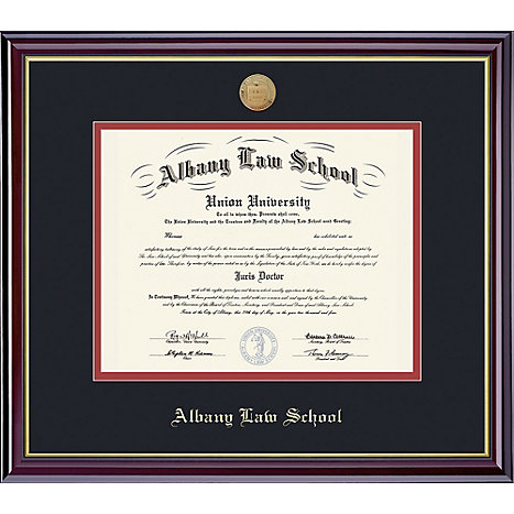 Albany Law School 14\'\' x 17\'\' Windsor Diploma Frame | Sage College ...