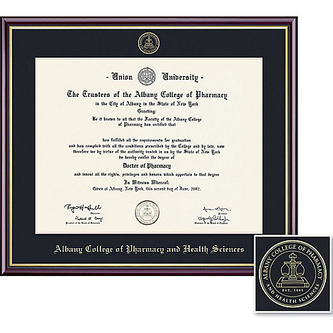 Albany College of Pharmacy and Health Sciences Academic Diploma ...