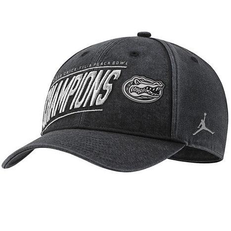 edcd9fcf48145 Nike University of Florida Gators Football 2018 Peach Bowl Champions  Adjustable Hat