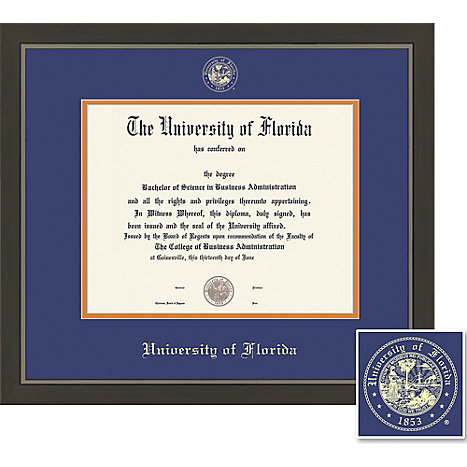 university of florida x metro diploma frame university  framing success university of florida 11 x 14 metro diploma frame