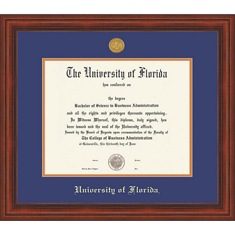 University Of Florida Millenium BA/MA Diploma Frame | University of ...